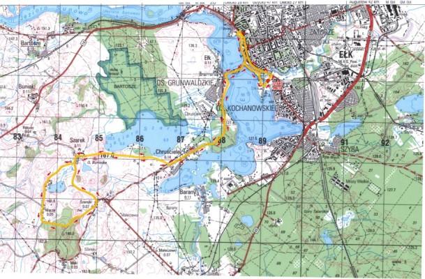 półmaraton 2020 mapa trasy